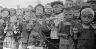 Дети в нацистском концентрационном лагере Майданек