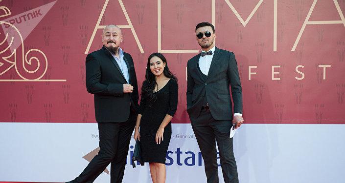 Красная дорожка Almaty Film Festival