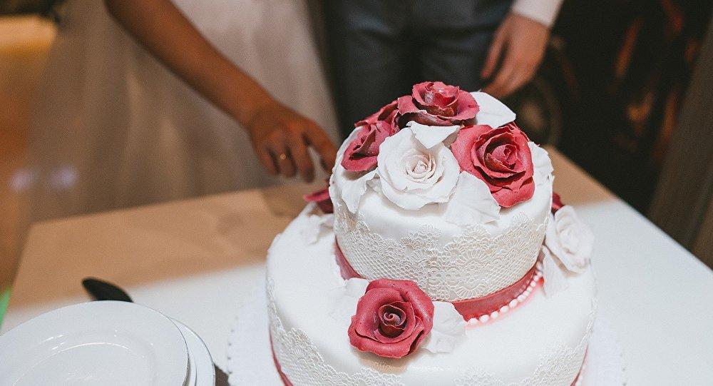 Торт, үйлену тойы
