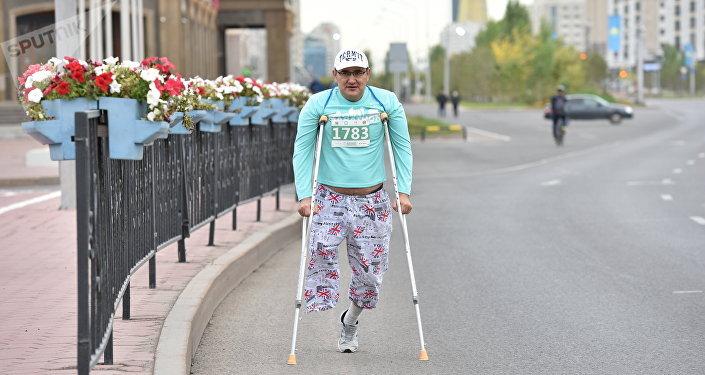 Участник Астана марафон