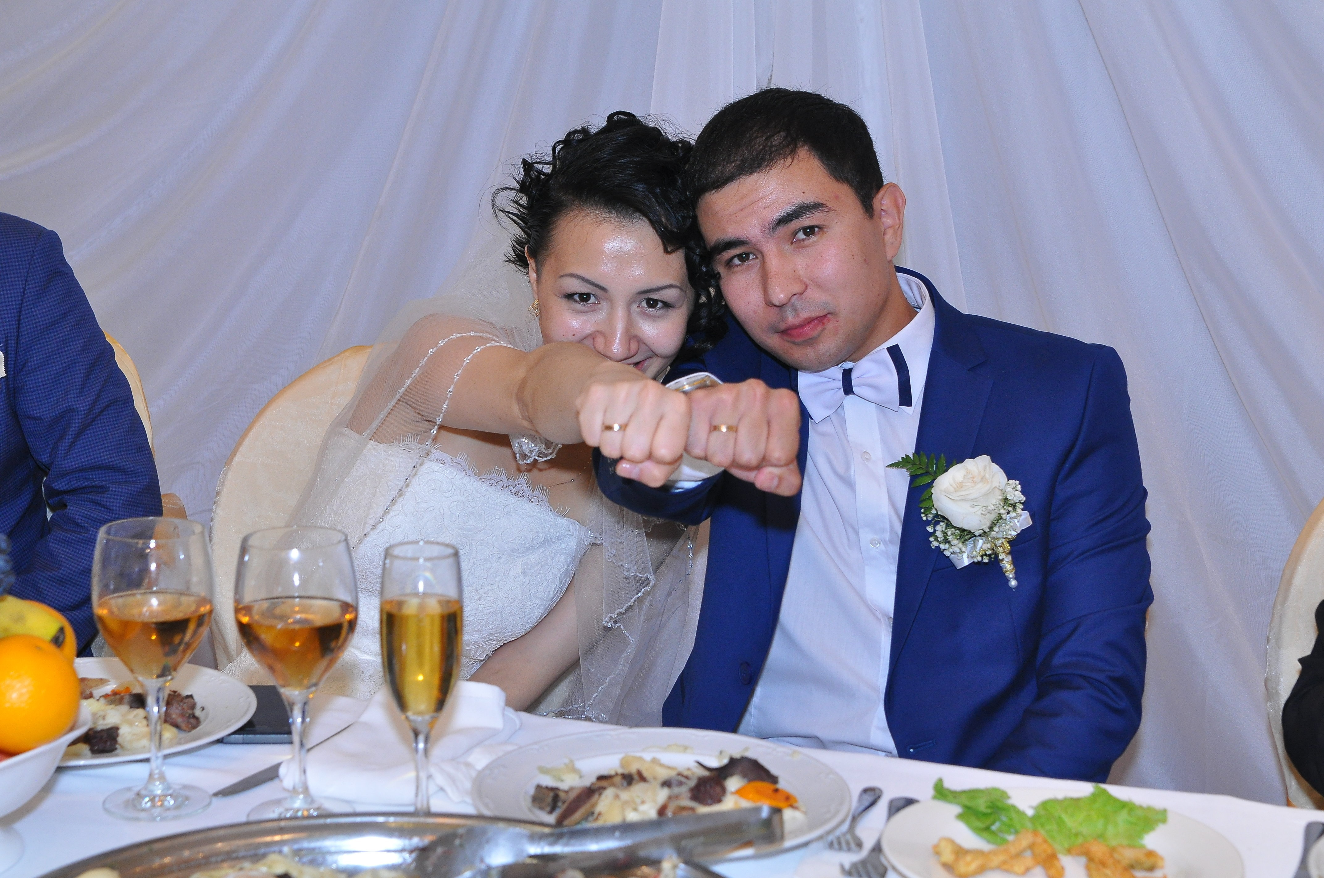 Свадьба Алимхана и Алины Булатовой