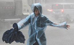 Последствия тайфуна Мангхут