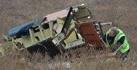 Обломки малайзийского Boeing, архивное фото