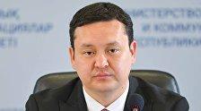 Вице-министр здравоохранения Олжас Абишев