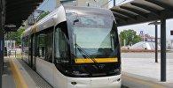 Легкорельсовый транспорт LRT, иллюстративное фото