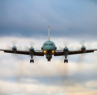 Самолет Ил-20, архивное фото