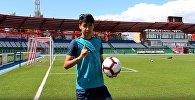 Еркебулан Сейдахмет забивает красивый гол со штрафного