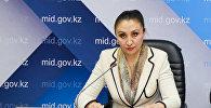 Заместитель председателя Комитета гражданской авиации Тоты Амирова