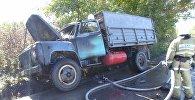 В Зыряновске пожарные предотвратили взрыв газовых баллонов