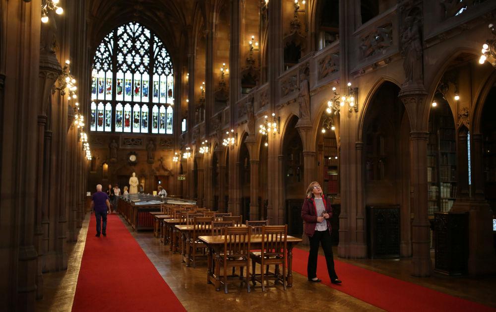 Библиотека Джона Райландса в Манчестере