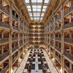 Джордж Пибоди кітапханасы, Балтимор, АҚШ.