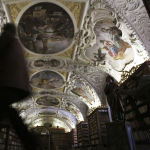 Прагадағы Страхов ғибадатханасы кітапханасы, Чехия.