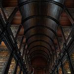 Дублиндегі Тринити-колледжі кітапханасы, Ирландия.