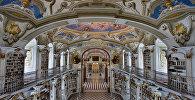 Австриядағы Адмонт аббаттығының кітапханасы