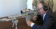 Владимир Путин попробовал себя в стрельбе из снайперской винтовки Чувакина