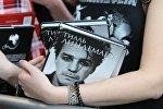 Презентация книги солиста группы Rammstein Тилля Линдеманна, архивное фото