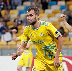 Матч Динамо Киев - Астана в рамках группового этапа Лиги Европы