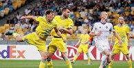 Матч Динамо Киев - Астана в рамках группового этапа Лиги Европы, архивное фото