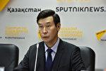 Заместитель председателя правления национальной компании Kazakh Tourism Кайрат Садвакасов