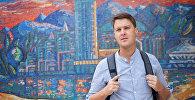 Дэнис Кин проводит экскурсии по Алматы для иностранцев
