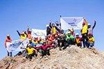Восхождение на горы в честь 20-летия Астаны