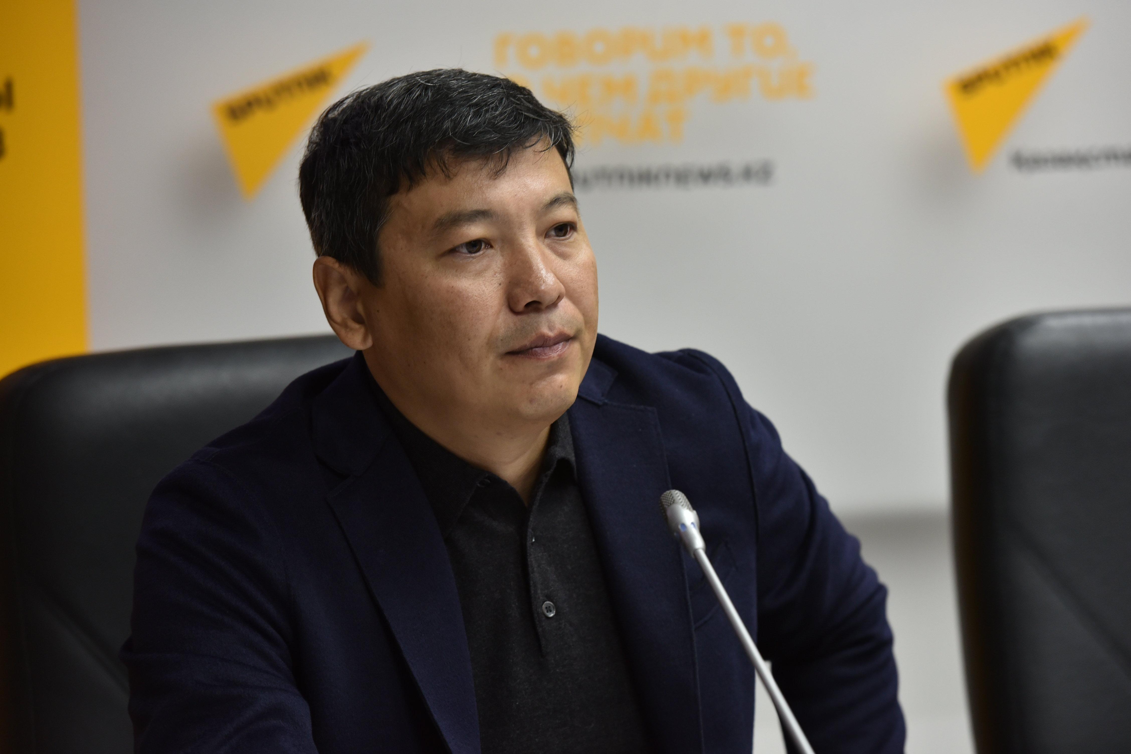 Председатель Ассоциации федераций спортивного туризма  Арман  Хасенов