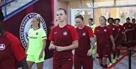 Женский футбольный клуб из Шымкента БИИК-Казыгурт
