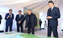 Нурсултану Назарбаеву представили план застройки Астаны