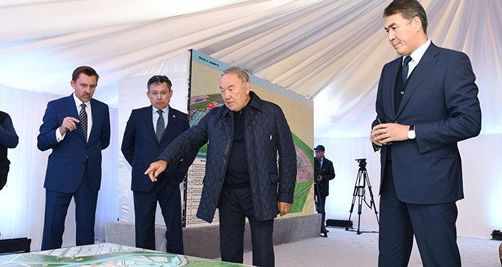 Назарбаев елорданың қала құрылысын игеру жоспарымен танысты