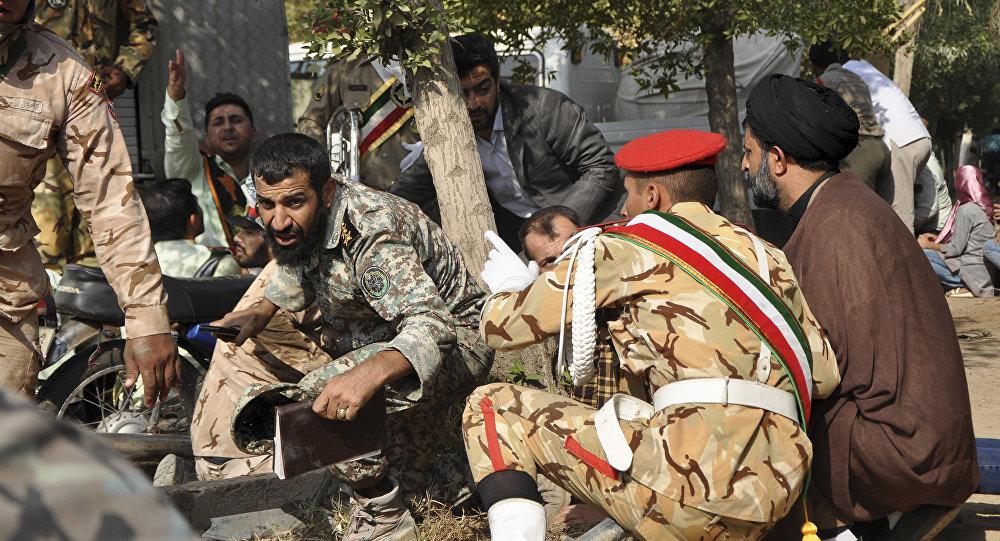 Ирандағы әскери парад кезінде теракт