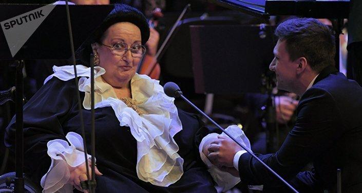 Оперная певица Монтсеррат Кабалье