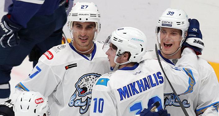 Матч Динамо Москва - Барыс