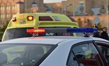 Автомобили скорой помощи, полиции