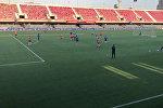 Ответка от Шымкента - видео тренировки БИИК-Казыгурт перед игрой с Барселоной