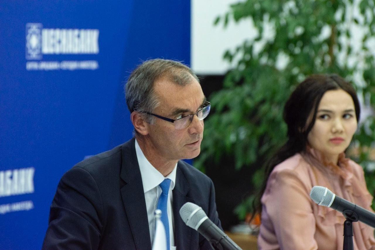Председатель правления АО Цеснабанк Ульф Вокурка