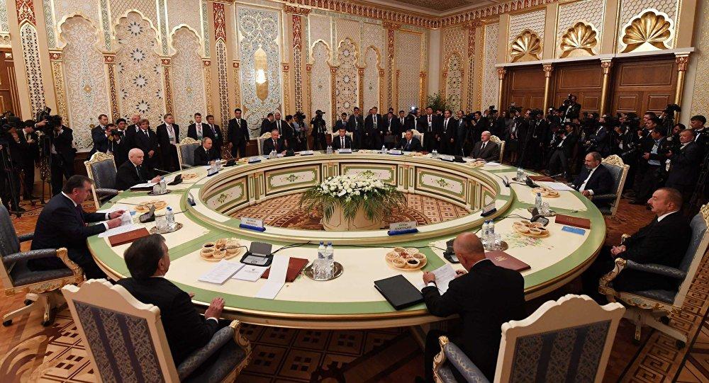 Нұрсұлтан Назарбаев ТМД-ға мүше елдер басшылары кеңесінің отырысына қатысты