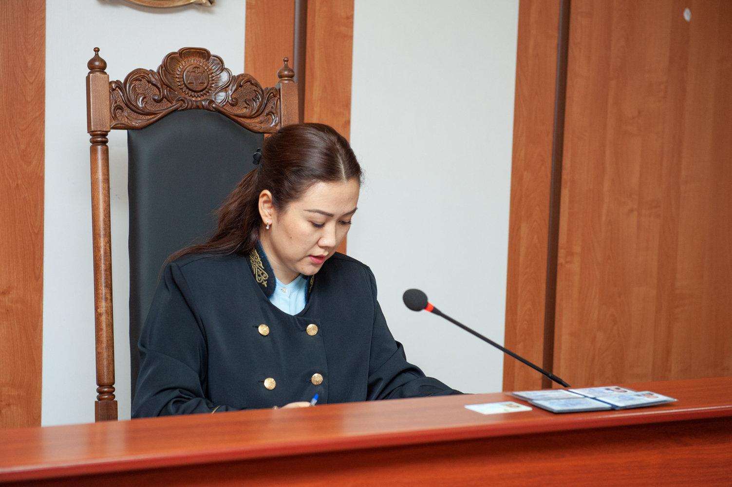 Судья Жетысуского районного суда города Алматы