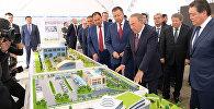 Ознакомление с проектом развития нового административного центра города Туркестана
