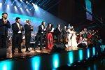 В Астане с аншлагом прошел концерт САМҒАУ, где прозвучали казахские народные песни в новом симфоническом звучании