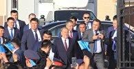 Нұрсұлтан Назарбаев Түркістан облысына ресми сапармен барды