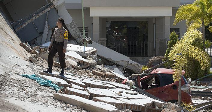 Индонезиядағы цунами, архивтегі сурет
