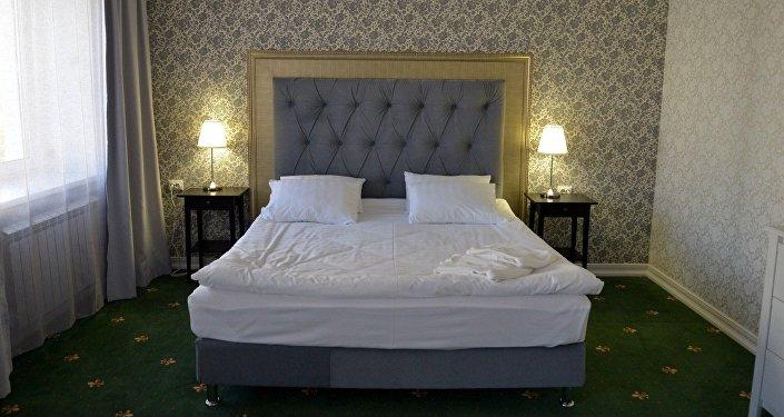 В номере отеля Скиф