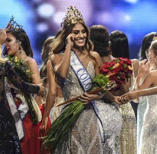 Победительница конкурса красоты «Мисс Колумбия - 2018» Валерия Моралес