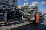 Астанада жолаушылар автобусы соқтығысты