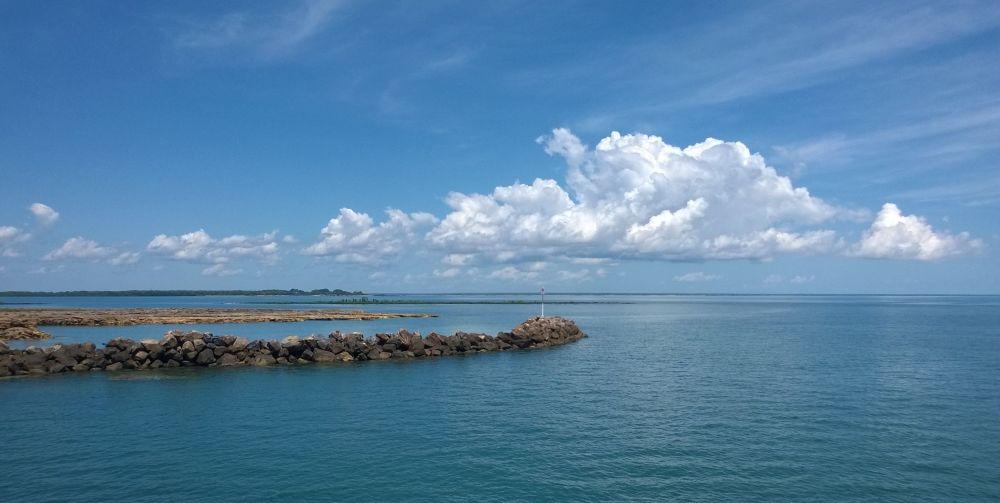 Пляж Дарвин в Австралии
