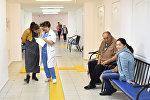 Коридор поликлиники