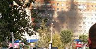 Пожар в жилом доме в Актобе