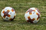 Футбольные мячи для матчей Лиги Европы УЕФА сезона 2018/19.