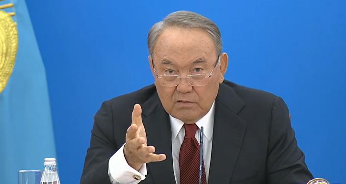 Нұрсұлтан Назарбаевтың халыққа жолдауының видеосы