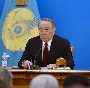 Президент Нұрсұлтан Назарбаев